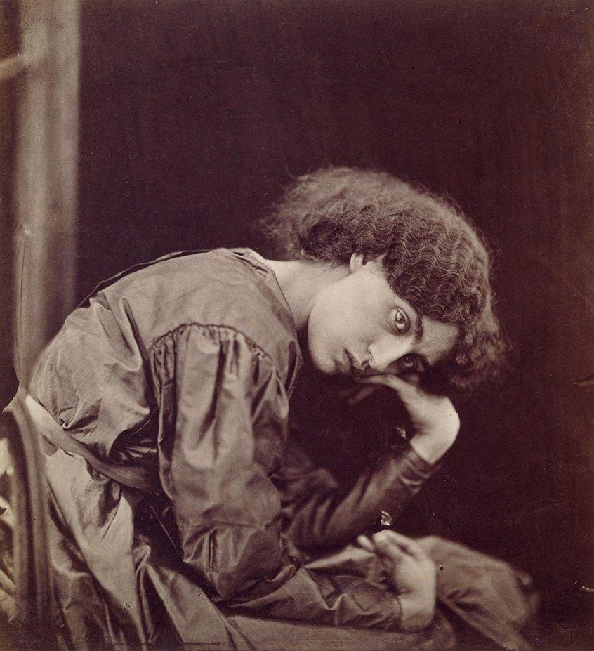 Portrait of Jane Morris by JR Parsons