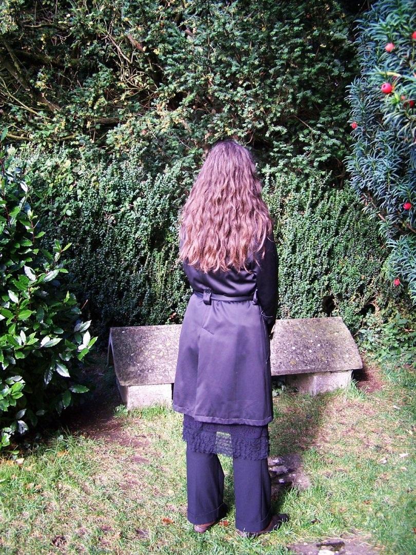 Jane Morris's grave