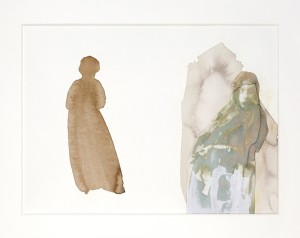 Shrinking Violet grew a spine, John Robert Parsons, Sipco Feenstra, Jane Morris, Margje Bijl, photograph, drawing, collage, ink