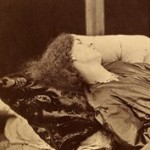 leaning on a divan, John Robert Parsons, Rossetti, Jane Morris, Album, photographs, wet collodion, albumen, Emery Walker, May Morris