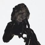 Jane Morris, John Robert Parsons, ink drawing, wet collodion photographs, Margje Bijl