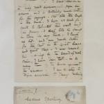 Jane Morris' handwriting