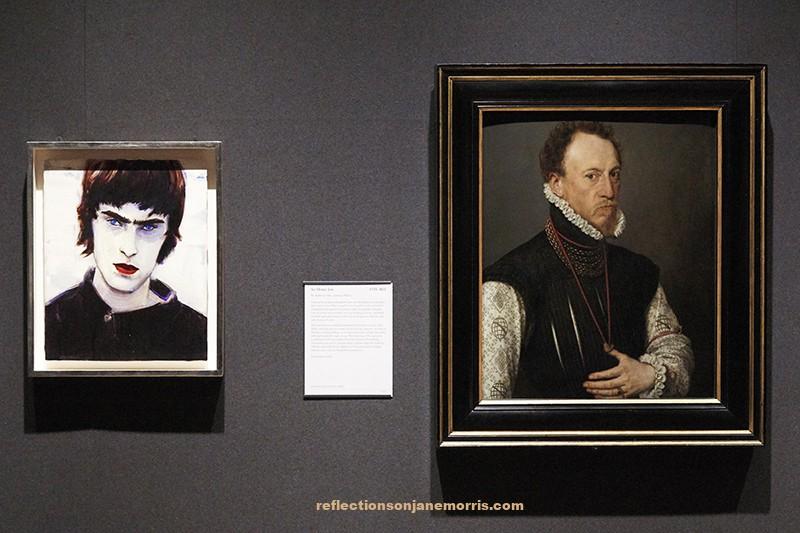 Elizabeth Peyton, National Portrait Gallery, London, musea, Tudor, Victorian, seventeenth century art, museum collections, paintings, contemporary art, portrait, figure painting
